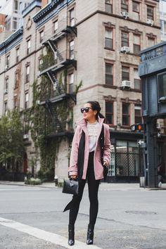 Fall in Pink :: Blush peacoat