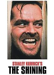 Jack Nicholson, portrays Jack Torrance in the classic horror movie The Shining, directed by Stanley Kubrick. Scary Movie List, Scary Films, Best Horror Movies, Great Movies, Horror Films, Horror Books, Film Shining, The Shining Poster, Movie Titles
