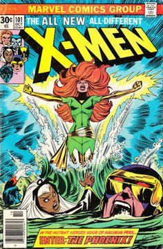 X-Men #101, the Phoenix makes her debut