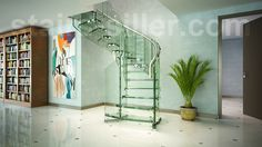 Best 63 Best Glass Stairs Images In 2019 Glass Stairs Stairs 400 x 300