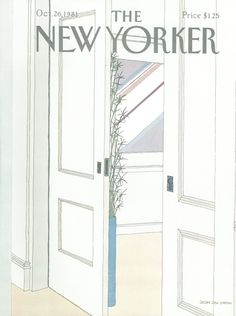 The New Yorker - Monday, October 26, 1981 - Issue # 2958 - Vol. 57 - N° 36 - Cover by : Gretchen Dow Simpson