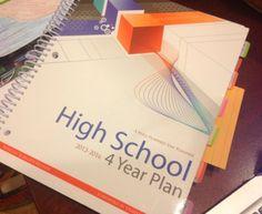 high school planner