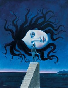 Rafal Olbinski Tutt Art Skip to full content Kunst Inspo, Art Inspo, Surealism Art, Poesia Visual, Surreal Artwork, Surrealism Painting, Wow Art, Psychedelic Art, Contemporary Paintings
