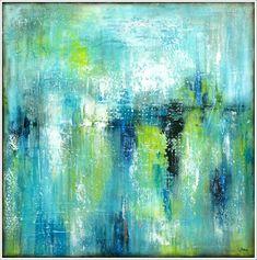 GEMÄLDE abstrakt STELLA HETTNER Bild ORIGINAL Kunst Leinwand MALEREI Acryl XL abstract painting