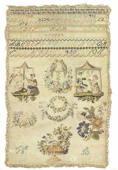 Antique sampler