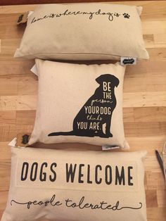 Dog Pillow   Quinn's Mercantile