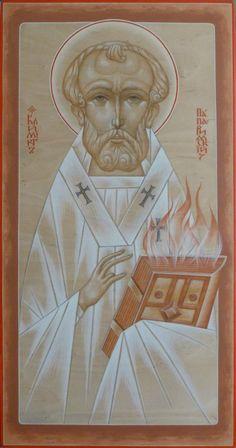 Св. папа Климент. Иконописец Сергей Некрасов
