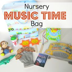 SINGING TIME IDEA: nursery music leader bag