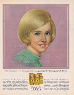 The Breck girl. I loved these ads!!!