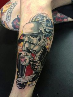 Awesome star wars tattoo