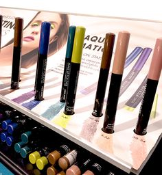 Drawing the Human Body, Literally, With the New Make Up For Ever Aqua Matic Pencils | Makeup and Beauty Blog