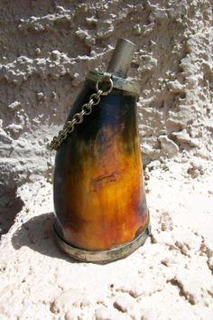 Antique Gun Powder Horn by TreasuredTinks on Etsy, $85.00
