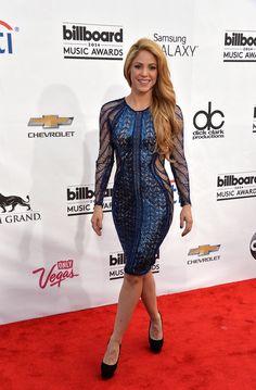 Shakira on the Billboard Music Awards red carpet