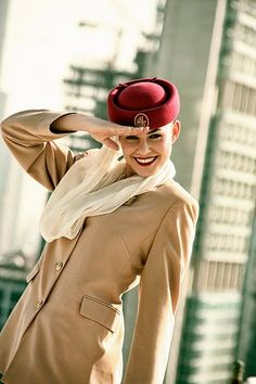 Emirates Cabin Crew - the old