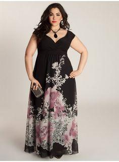Abigail Maxi Dress Plus Model Nicole Zepeda Dorothy Combs Models