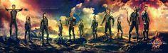 Jogos Vorazes: Em Chamas ganha mega banner