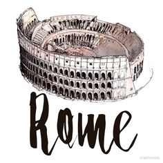 """'Rome' by creativelolo""""Rome"""" de creativelolo'Rome' by creativelolo """"Rome"""" de creativelolo The Effective Pictures We Offer You About Travel Stories logo A quality picture can tell you many things. You can find the most beautiful pictures that Hight Light, Voyage Rome, Arte Sketchbook, Insta Icon, Travel Drawing, Travel Wallpaper, Travel Illustration, Instagram Story Ideas, Instagram Highlight Icons"""