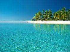 Download Eclusive Blue Sea Beach Wallpaper | Full HD Wallpapers