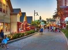 Visit Harborwalk Village in Destin, Florida via Mark Walter | Resorts of Pelican Beach in Destin FL