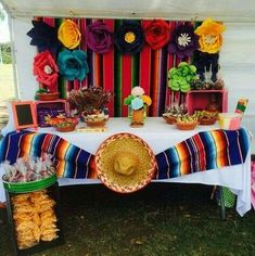 Quinceanera Party Planning – 5 Secrets For Having The Best Mexican Birthday Party Mexican Birthday Parties, Mexican Fiesta Party, Fiesta Theme Party, First Birthday Parties, Party Themes, Party Ideas, Mexico Party Theme, Mexican Dessert Table, Fiesta Gender Reveal Party