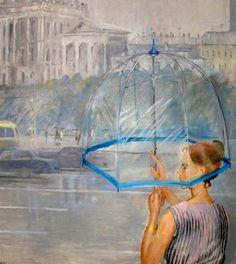 Юрий Пименов. Прозрачный зонтик