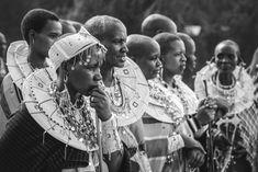 Arusha, Tanzania.  Maasai people in their tribal clothes. Maasai means people speaking maa. Maasai People, Arusha, Mean People, Black And White Portraits, Our World, Tanzania, Fine Art Photography, Halo, Urban