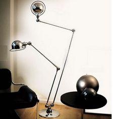 Lampe Jielde d7460: la lampe DOUBLE incontournable du mobilier industriel et de l'esprit loft. la lampe jielde restera le symbole de l'esprit loft