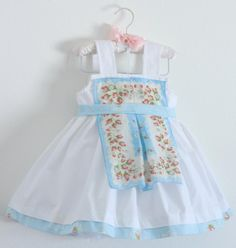 Beautiful hankie dress by Modest Goddess on etsy.