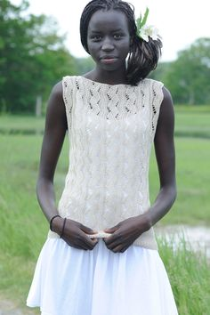 nyanen tee-Quince and Co in Sparrow linen