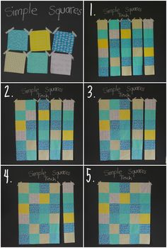 Cutting and piecing tutorial - Siobhan Rogers