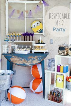Tips for hosting a Despicable Me Party