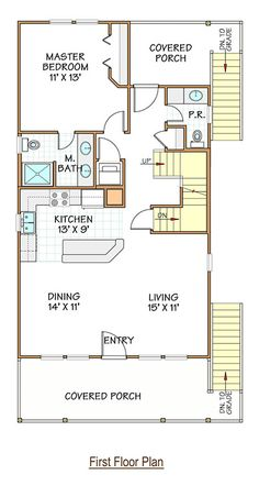 Appear this essential graphics and visit today points on Floor Remodel Micro House Plans, Elevated House Plans, Narrow Lot House Plans, House Layout Plans, Garage House Plans, House Layouts, House Floor Plans, Small Lake Cabins, Small Lake Houses