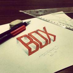 3d calligraphie et le lettrage de Tolga Girgin - 27