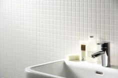 Classic white mosaic tiles are ideal to create a clean, modern look +are now on special offer When tiling a bathroom or a kitchen splashback, White Mosaic Tiles Hexagon Mosaic Tile, White Mosaic Tiles, White Wall Tiles, Glass Mosaic Tiles, Best Bathroom Tiles, Mosaic Bathroom, Bathrooms, Kitchen Tiles, Bathroom Ideas