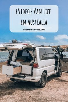 Video Van Life in Australia - The Brit & The Blonde - uncategorized - Video Van Life in Australia – The Brit & The Blonde life bathroom idea - Ford Transit Camper Conversion, Australian Capital Territory, Adventures Abroad, Vans, Travel Videos, Travel Tips, Sprinter Van, Campervan, Gold Coast