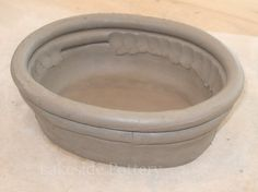 hand building pottery project - coiling