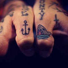 Love that shark tattoo (it's my AIM sn)