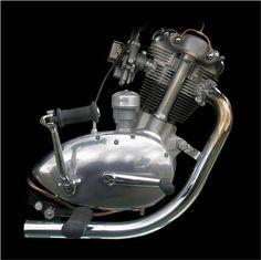 1963 Triumph Tiger Cub engine