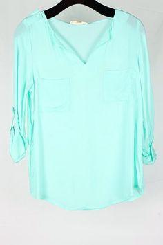 chiffon blouse <3