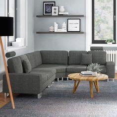 Stockholm Modular Corner Sofa Home & Haus Upholstery: Grey Design Blogs, Interior Design Tips, Interior Decorating, Design Ideas, Modern Interior, English Interior, Decorating Ideas, Design Basics, Japanese Interior