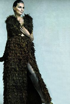 Samantha Jones by Avedon. Vogue 1967
