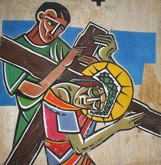 Station 5 - Via – sacra | Província Franciscana da Imaculada Conceição do Brasil