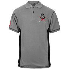 Star Wars - Mens Darth Logo Polo Shirt X-large Grey