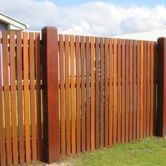 timber fence contemporary vertical - Google Search