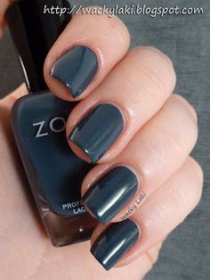 Zoya - Natty - My new favorite nail color brand!  Still love gray - been wearing it for a few years.