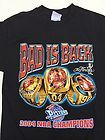For Sale - Detroit Pistons Bad is Back 2004 NBA Finals Championship T-Shirt Medium