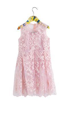MINI SS16 CALLA DRESS PINK