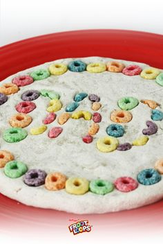 Froot Loops Plaque for Dad.  Tell dad he's awesome with colorful Froot Loops! Have your child mold a simple salt dough (1 part water, 1 part salt and 2 parts flour) into a round, decorate and let it dry.  Dad will love it!
