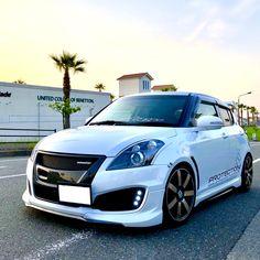 Suzuki Swift Sport, Suzuki Cars, High Performance Cars, Weird Cars, Slammed, Car Car, Sport Cars, Cars And Motorcycles, Cars Motorcycles