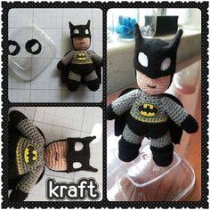 Mini Batman com suporte!